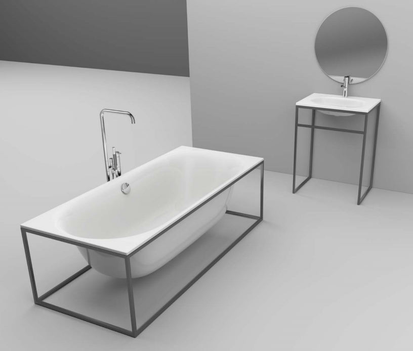 Schmidin Tub & Sink
